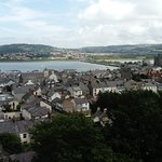 Conwy from above