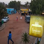 View from Tandoor of Kotu market place