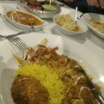 Narikel Duck and a Black Lenti Dhal
