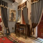 Desk in Sharaf Suite