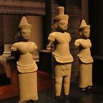 Exhibit on the special Angkor exhibition
