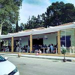 The new and renovated restaurant form outside
