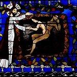 Chapelle de la Genèse : Dieu crée la femme