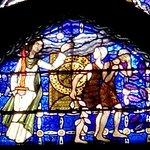 Chapelle de la Genèse : Adam et Ève chassés du paradis