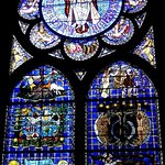Chapelle de la Genèse, le vitrail dans son ensemble