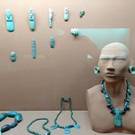 Turquoise, and how it's used in jewelry.