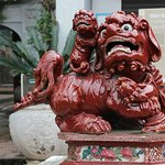 Lions at Temple of Literature