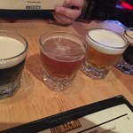 Beer flight.
