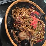 Y Y  Yasai Yakisoba  Noodles with vegetables