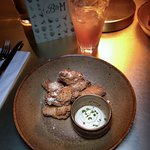Lemon & Parmesan Chicken Wings with Truffle Aioli Dip