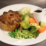 Amazing beef pie one that's a must to try on the new menu on the 19th April
