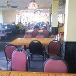 inide of the restaurant