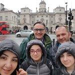 Buckingham Palace with Mark