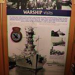 Warship visits