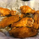 Old Bay-dusted wings...yum!