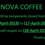 April 2018 Holiday notice