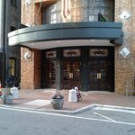Entrance to an extraordinary show at Virginia Satge Company