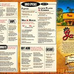 Our menu - our story.  The Garcia family invites you to stop in to see why we are THE BEST!