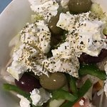 Greek salad is the best!