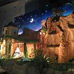Christmas crib in Velankanni