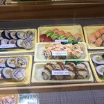 Only a third of their sushi offerings