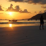 Sunrise in Anse Volbert!!!