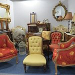 Reproductions and antiques