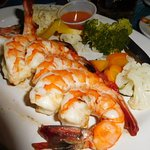 divine-looking shrimp at Mr. Lionso Playa Bruja