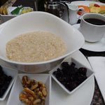 excellent oatmeal service Rosas y Xocolate