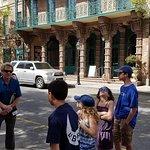 Charleston Footprints Tour -- Michael Trouche engaging my kids