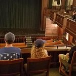 Charleston Footprints Tour -- inside Dock Street Theatre