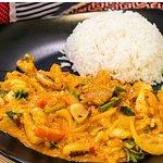 ัyellow curry with chicken i very like ,very delicious