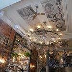 greek themed ceiling