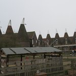 The iconic Oast Houses