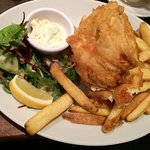 Haddock fish and chips!
