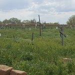 Cemetery at the Pueblo