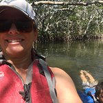 kayaking and snorkeling in the mangrove channels and John Pennekamp State park