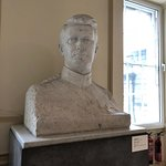 Large bust of Michael Collins by Seamus Murphy