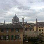 Camera superior nr. 30 con vista sul Duomo