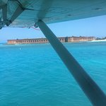 Fort Jefferson from the sea plane