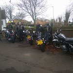 Earls barton Bikers at Jester's Raunds