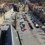 The square from the bell tower