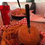 Gigantic Burgers and great fries.