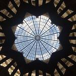 Rotunda do CCBB em um dia de exposição