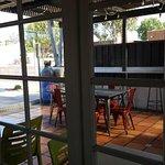 Patio area @ Backyard Taco - 1524 E. UNIVERSITY DR. MESA, AZ 85203