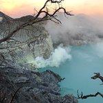 Bild från Ijen Crater