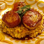 Exquisite scallops: feast for the eye AND tastebuds !!