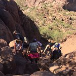Crowded, steep bouldering - Echo Canyon Trail