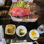 Hida Beef (self grill) with variety of vegatables