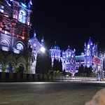 CST Railway station from outside. Picture Taken around 5:20am